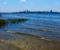Вид на город с левого берега