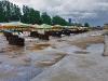 Скадовск, пляж после дождя